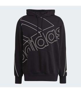 Adidas Sweatshirt with Giant Logo Hood