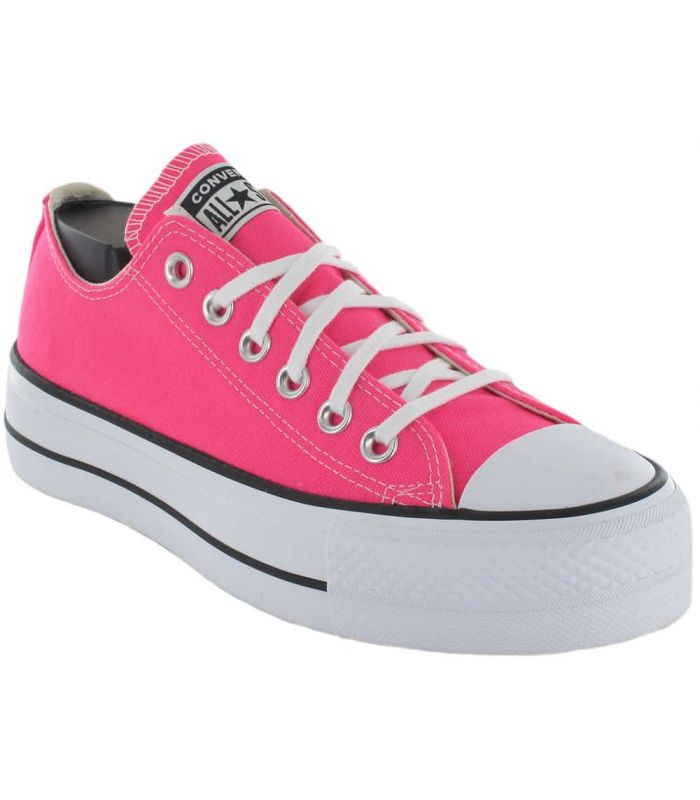 Convert Chuck Taylor All Star Lift Fucsia - Casual Shoe Woman