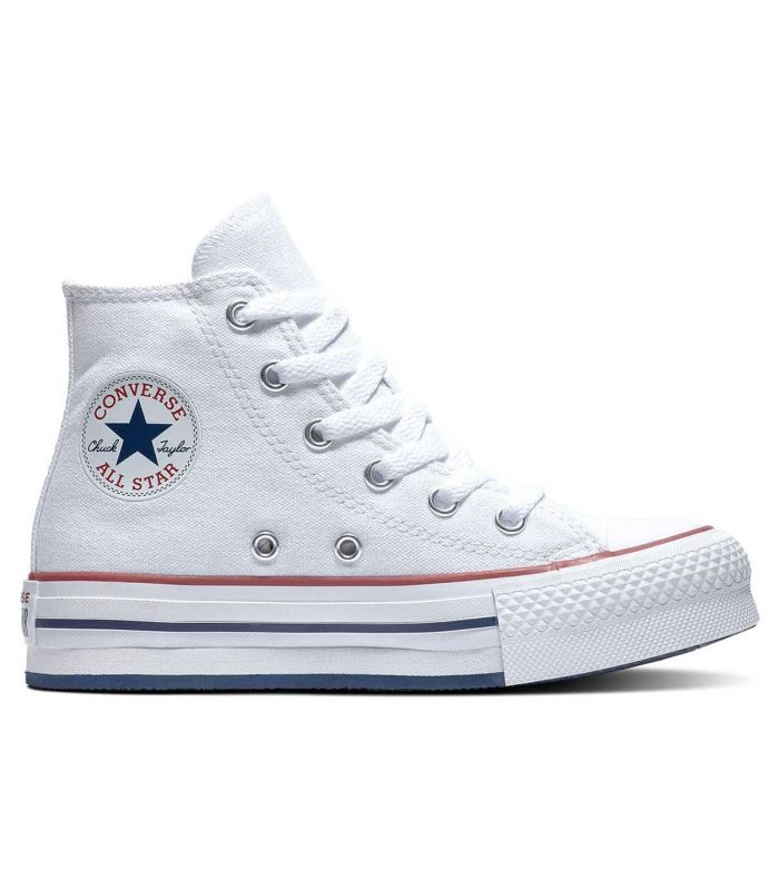Converse Chuck Taylor All Star Eva Lift Blanco - Junior Casual