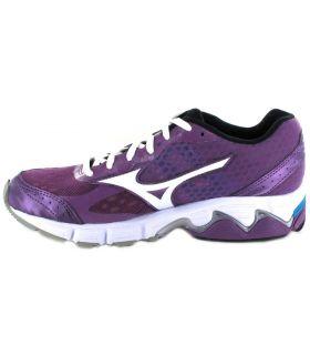 Mizuno Wave Connect W Morado - Zapatillas Running Mujer - Mizuno 40