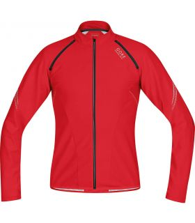 Gore Magnitude Windstopper Soft Shell Zip-Off-Rouge