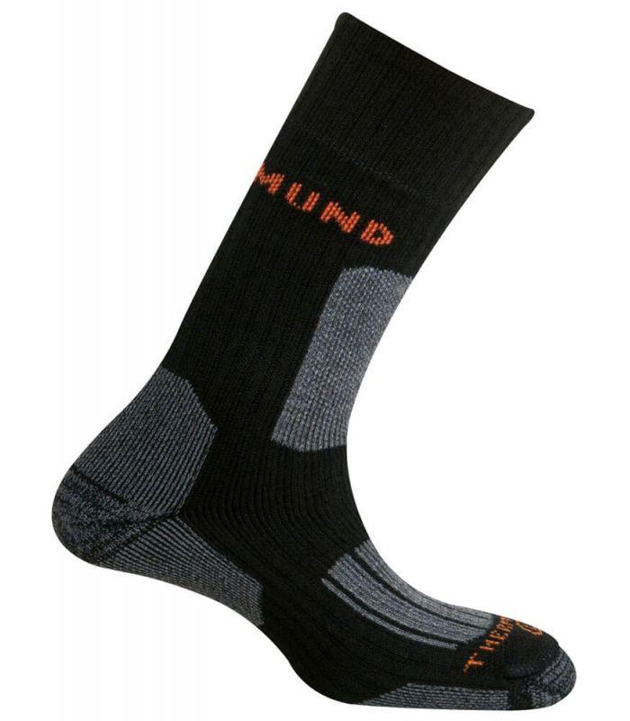 Mund Everest Mund Socks Calcetines Montaña Calzado Montaña Tallas: 34 / 37, 38 / 41, 42 / 45; Color: negro