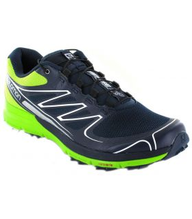 Salomon Sense pro Az/Ve Salomon Zapatillas Trail Running Hombre Zapatillas Trail Running Tallas: 46 2/3