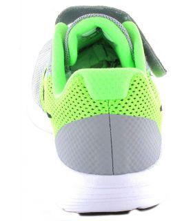Nike Revolution 3 PSV Gris - Zapatillas Running Niño - Nike